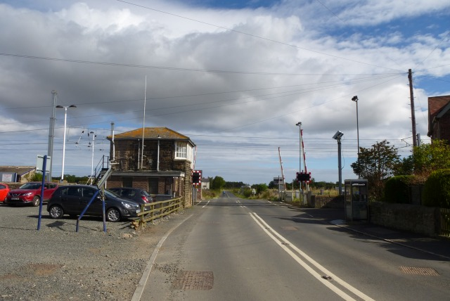 Approaching the level crossing