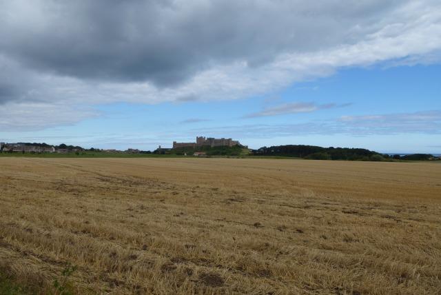 Farmland near Bamburgh