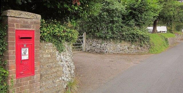 Postbox, Old Rydon Lane