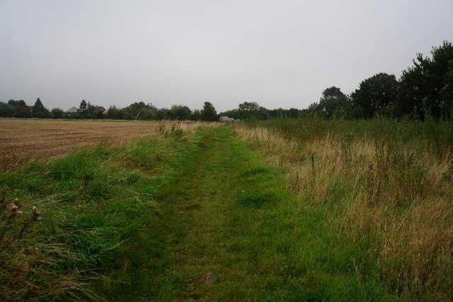 Bridleway towards Cheapside (road)