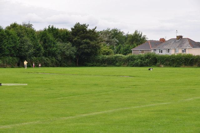 Bridgend : Playing Field