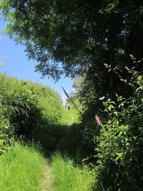 Footpath near Geese Quarries