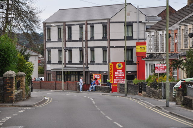 Bridgend : Coity Road B4181