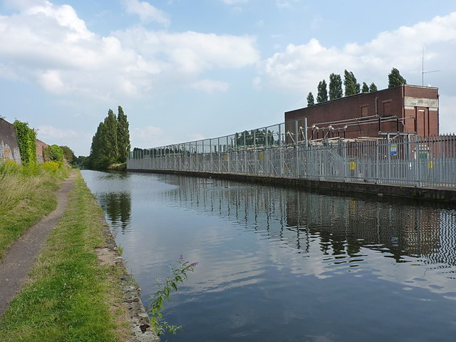 Canalside electrical sub-station