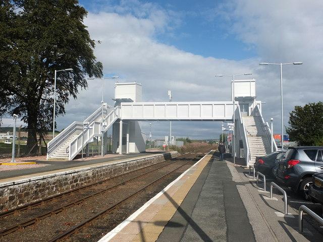 Footbridge, Dyce Station