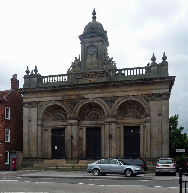 Former Corn Exchange, Castle Gate, Newark-on-Trent