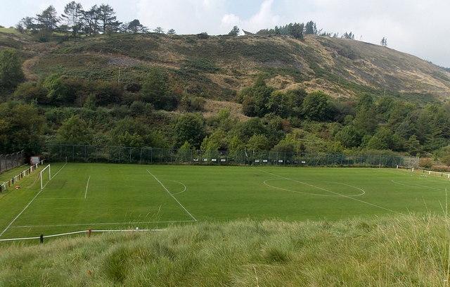 Blandy Park football ground, Pontycymer