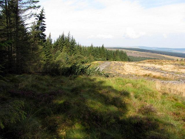 The Border Line above Berkey Sike