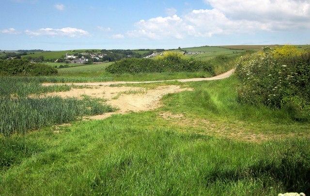 Path to West Charleton