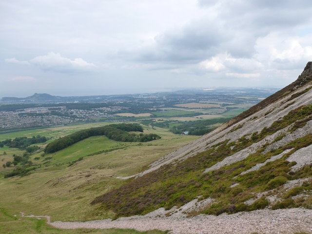 Slope below Caerketton Craigs