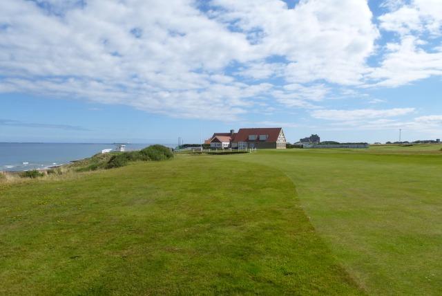 Bamburgh golf course