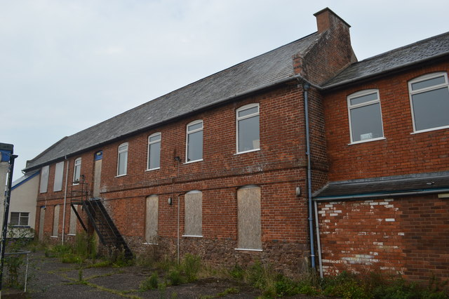 Former drill hall - The Green (off Fore Street)