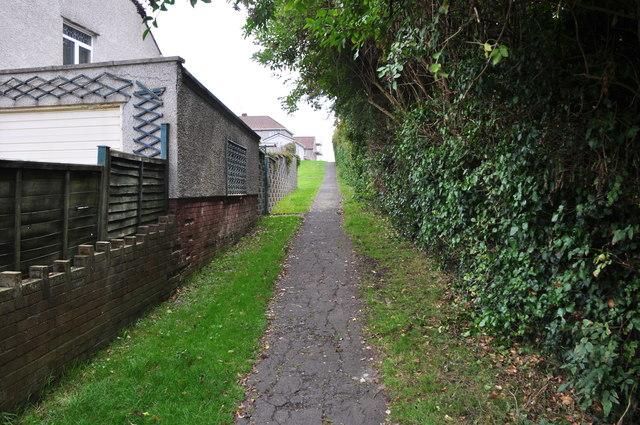 Bridgend : Footpath