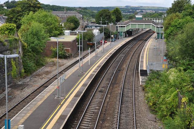 Bridgend : Railway Station