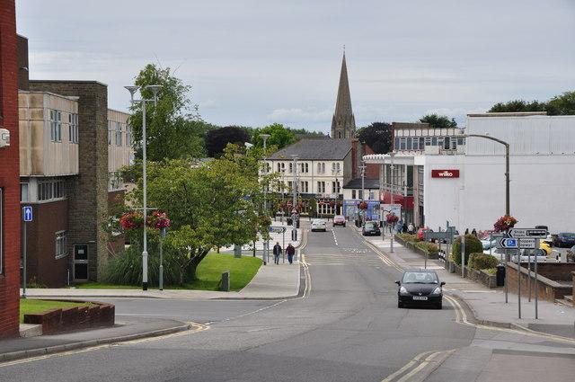 Bridgend : Brackla Street