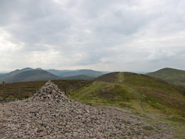 Cairn on Caerketton Hill