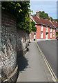 SZ3295 : Church Lane by Anne Burgess