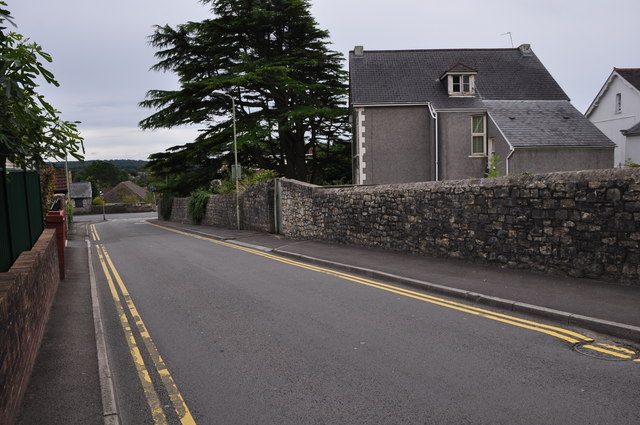 Bridgend : St Leonard's Road