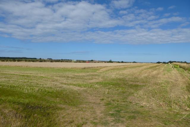 Farmland near East Fleetham