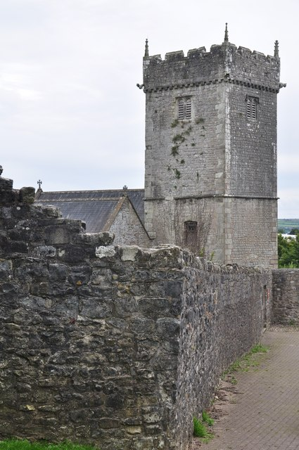 Bridgend : St Illtyd's Church