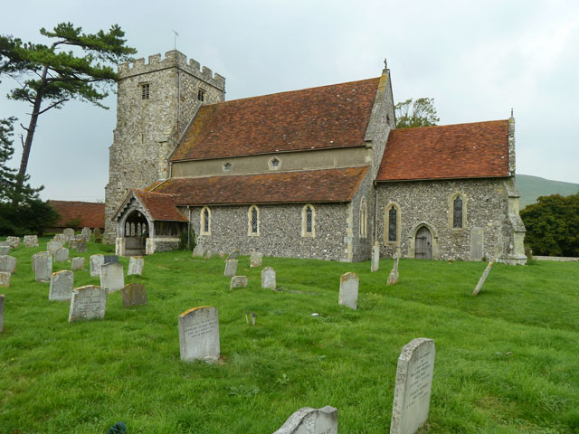 Beddingham church