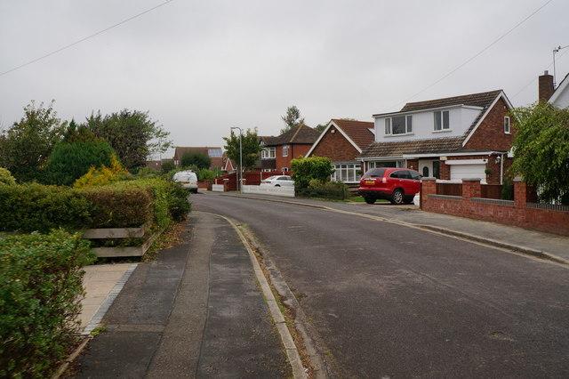Houses on Worsley Drive, Holton le Clay