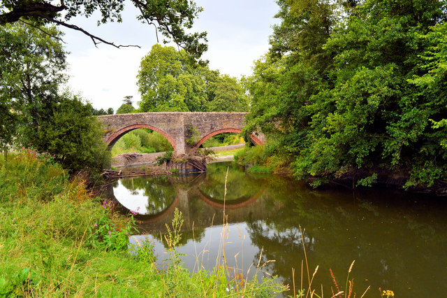 The bridge at Bromfield