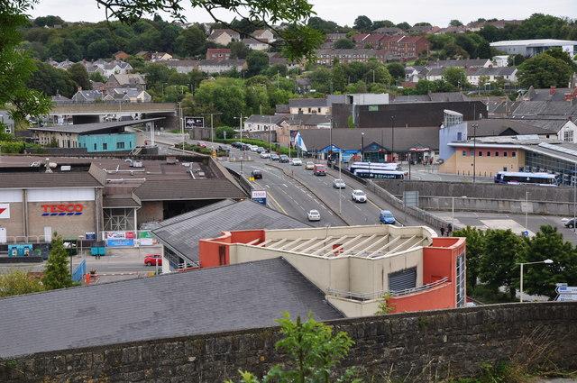 Bridgend : Town Scenery
