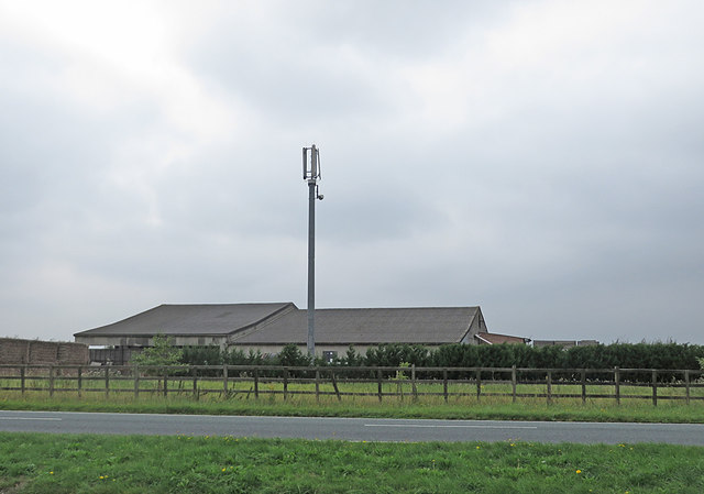 Comms mast, Whitehouse Farm