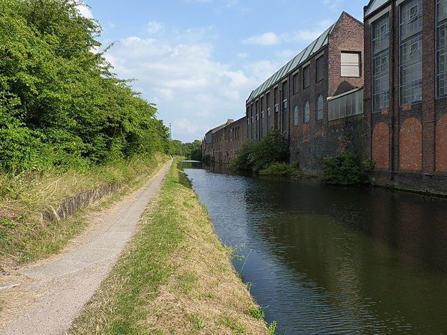 Canalside industrial buildings in Sparkbrook