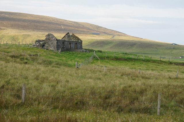Old crofthouse near Feall, Haroldswick