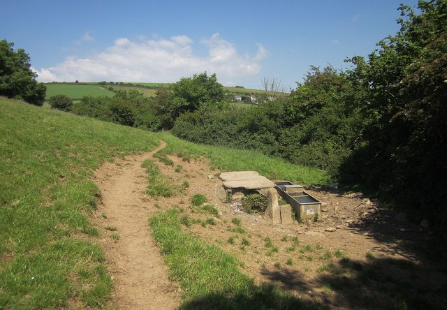 Troughs by Frogmore Creek
