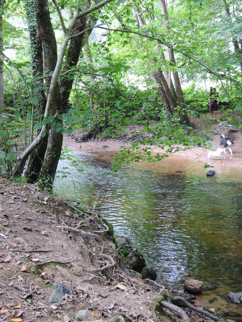 Bovey Tracey: the river Bovey