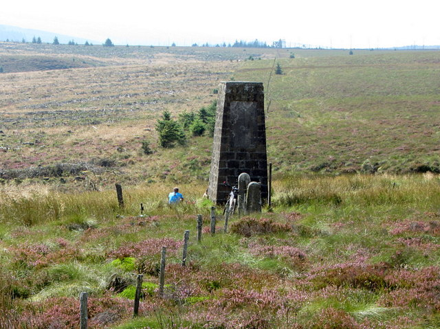 Old Toll Pillar at Bloody Bush
