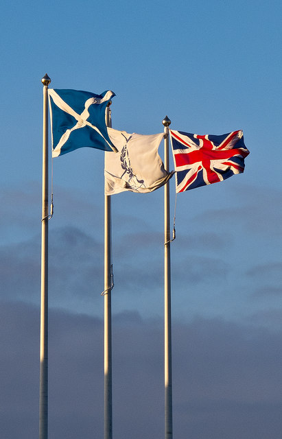 Flags, St Andrews