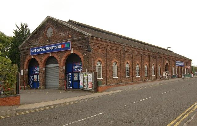 Former engine shed, Horley