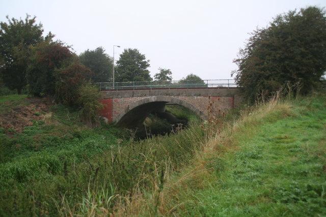 Langworth bridge over Barlings Eau
