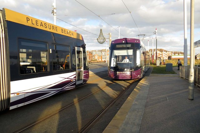 Trams at Starr Gate