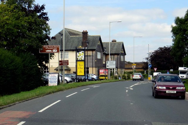 The A6 passes the Bellflower