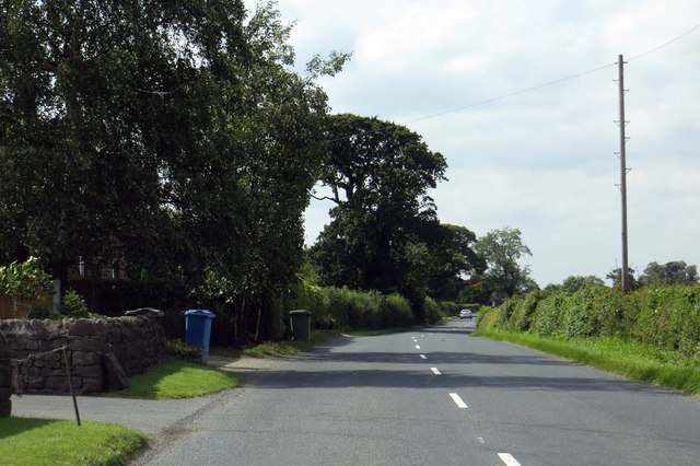 Longmoor Lane heading towards Nateby