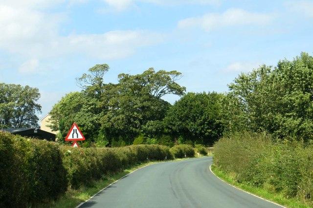 Cartmell Lane by Island Farm