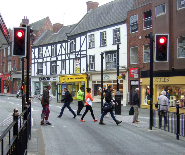 Pedestrian crossing, Lincoln