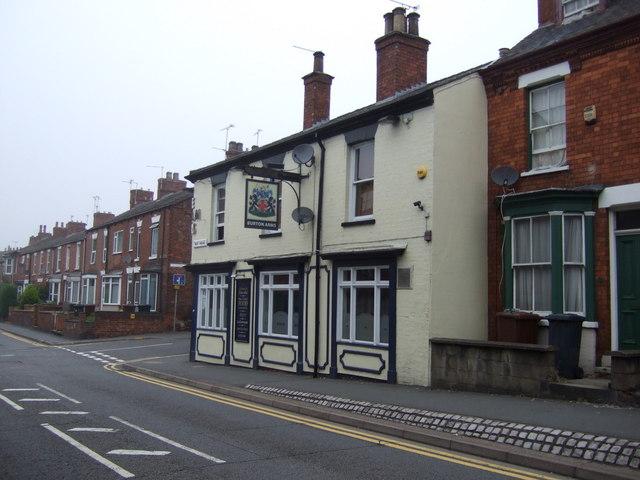 The Burton Arms pub, Lincoln