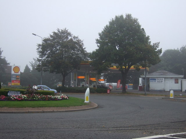 Service station off the B1273