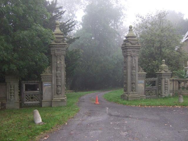 Gateway to Burton Park