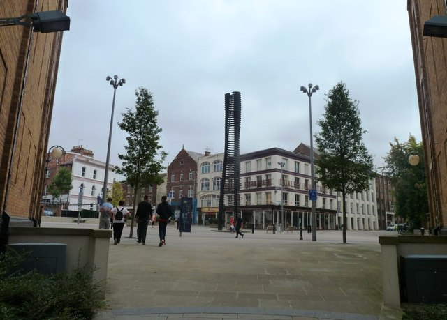 Looking towards Southgate Street