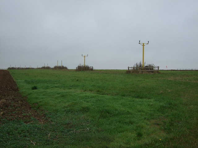 Landing lights for Scampton Airfield
