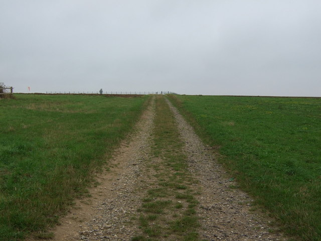 Track to Scampton Airfield