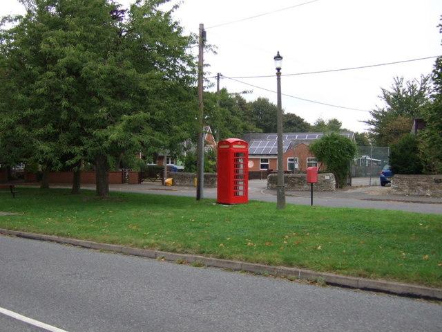 Phone box, Scampton