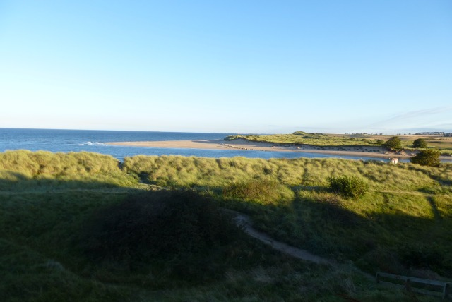 Towards the Aln estuary